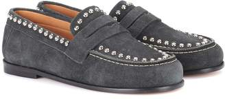 Isabel Marant Exclusive to mytheresa.com Fenzay embellished suede loafers