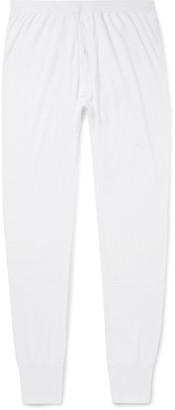 Sunspel Thermal VILOFT-Blend Pyjama Trousers - Men - White