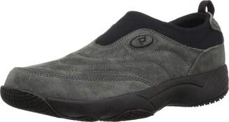 Propet Men's M3850 Wash & Wear Slip-on Ii Slip Resistant Sneaker