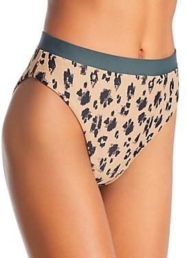 Dolce Vita Wild Things High Waist Bikini Bottom