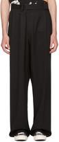 Ambush Black Overwrap Suit Pants