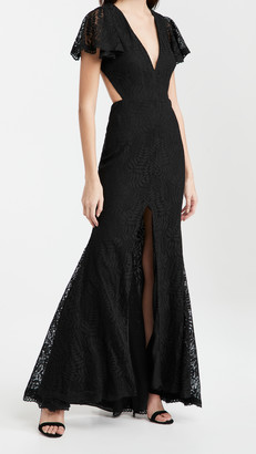 Fame & Partners The Open Back Dress