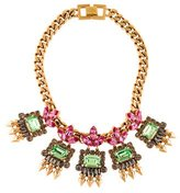 Mawi Crystal & Spike Necklace