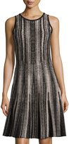 Nic+Zoe Northern Lights Knit Twirl Dress, Multi