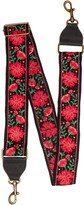 T-Shirt & Jeans Floral Embroidered Guitar Strap