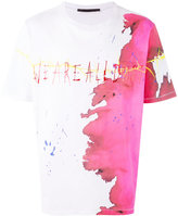 Haider Ackermann Perfusion T-shirt - men - Cotton - M