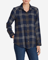 Eddie Bauer Women's Treeline Double Cloth Shirt