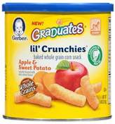 Gerber Graduates® Lil' Crunchies® 1.48 oz. Apple and Sweet Potato Baked Corn Snack