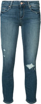 Paige distressed ankle jeans