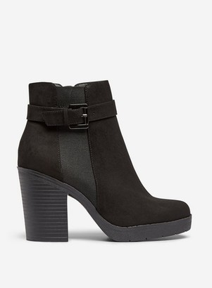 Dorothy Perkins Womens Black 'Aggy' Ankle Boots, Black