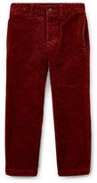 Ralph Lauren Suffield 10-Wale Corduroy Pants, Red, Size 5-7