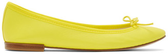 Repetto Yellow Cendrillon Ballerina Flats