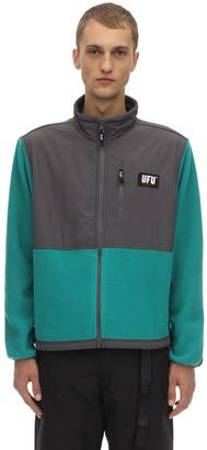 Ufu   Used Future Guard Logo Color Block Zip Jacket
