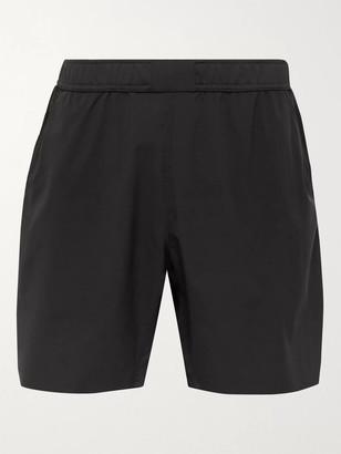 Reigning Champ Mesh-Panelled Shell Shorts - Men - Black
