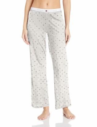 Tommy Hilfiger Women's Logo Pajama Pant Lounge Bottom Pj