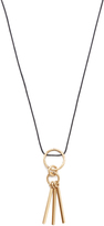 Madewell Double Hammered Ring Necklace