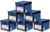 Fellowes Premium Tall Document Storage Boxes 10 pack - Blue