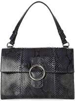Orciani Diamond Python Leather Bag