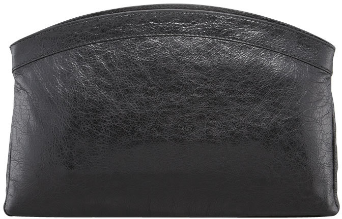 Balenciaga Giant 12 Rose Golden Premier Clutch Bag, Black