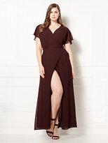 New York & Co. Eva Mendes Collection - Allison Wrap Dress - Plus