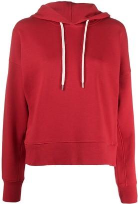 Moncler Logo Print Hooded Sweatshirt