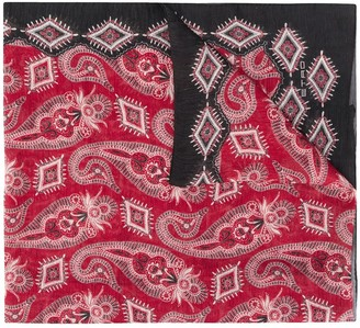 Etro Paisley-Print Lightweight Scarf
