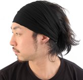 Casualbox mens Head cover Band Bandana Stretch Hair Style Japanese