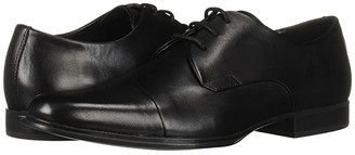 Calvin Klein Dominick (Black Crust Leather) Men's Shoes