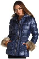 Juicy Couture Nylon Puffer Coat