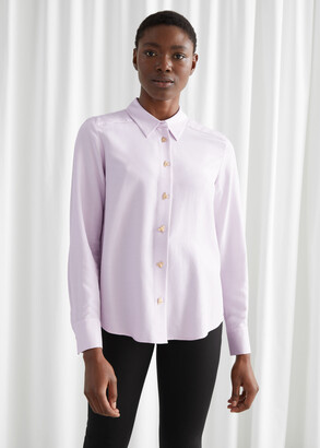 And other stories Relaxed Bee Button Shirt