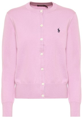 Polo Ralph Lauren Logo cotton-blend cardigan