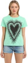 Fausto Puglisi Printed Cotton Jersey T-Shirt