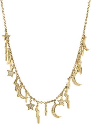 Andrea Fohrman Diamond Element Necklace