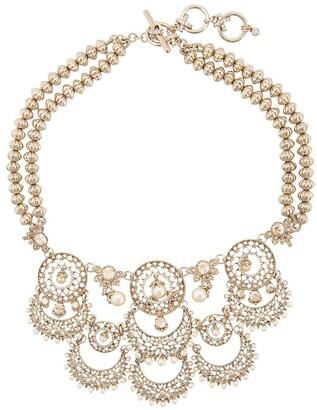 Marchesa Cut-Out Detail Necklace