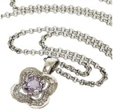 Mauboussin 18K Yellow Gold & Diamond Amethyst Necklace