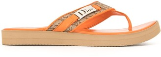 Christian Dior pre-owned Trotter thong sandals