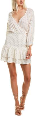 SUBOO Mae Shirred Mini Dress
