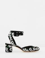 Loeffler Randall Cami Embroidered Block Heels