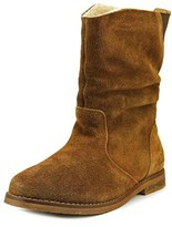 Coolway Nectar Women Round Toe Suede Brown Mid Calf Boot.