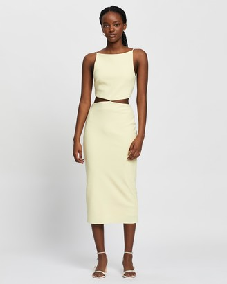 Bec & Bridge Scout Midi Cut Out Dress