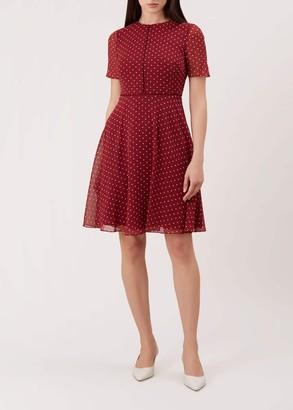 Hobbs Cecily Spot Dress
