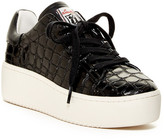 Ash Cult Embossed Leather Platform Sneaker