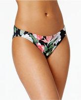 Vince Camuto Tropical-Print Bikini Briefs