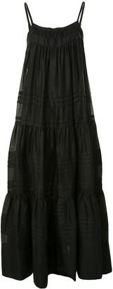 Lee Mathews Gigi tiered dress