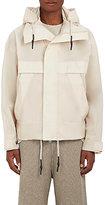 Adidas Day One Men's Bonded-Tech-Fabric Windbreaker Jacket
