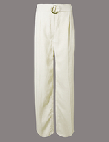 Autograph Belted Wide Leg Trousers