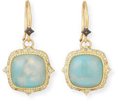 Armenta Old World 18k Aquaprase Drop Earrings