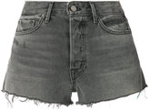 Grlfrnd raw hem denim shorts