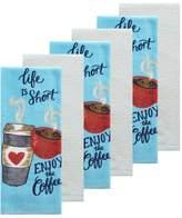 The Big One 6-pc. Coffee Kitchen Towel Set