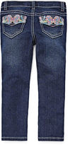 Arizona Butterfly Back Pocket Jeans - Toddler Girls 2t-5t